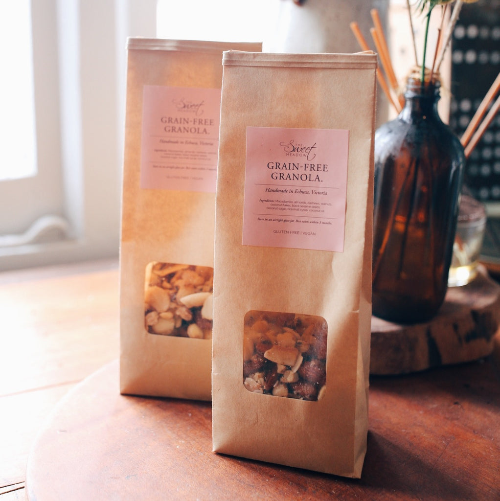 THE SWEET MEADOW - Grain-Free Granola