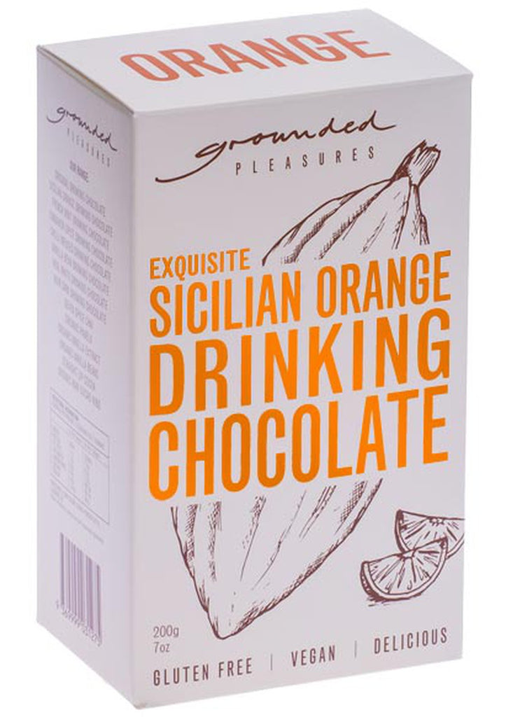 GROUNDED PLEASURES - Orange Drinking Chocolate