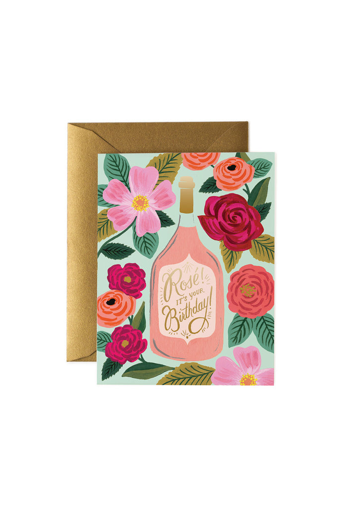RIFLE PAPER CO - ROSE IT'S YOUR BIRTHDAY single card