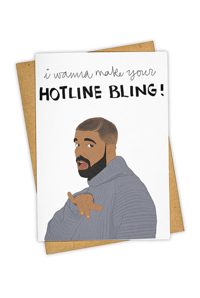 TAY HAM - HOTLINE BLING single card