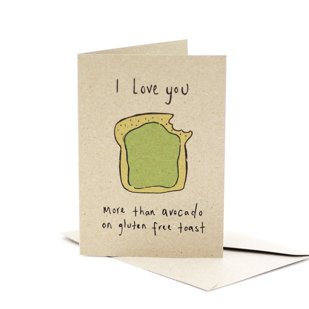 DEER DAISY - AVO ON TOAST single card