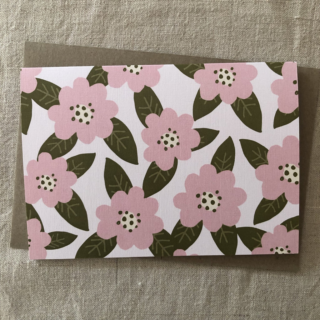 PINK PADDOCK - CAMELLIA single card
