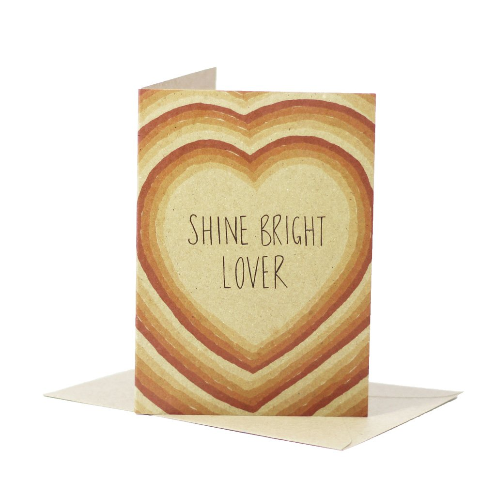 DEER DAISY - SHINE BRIGHT LOVER single card