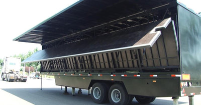 12 m roadshow mobile stage truck trailer for sale