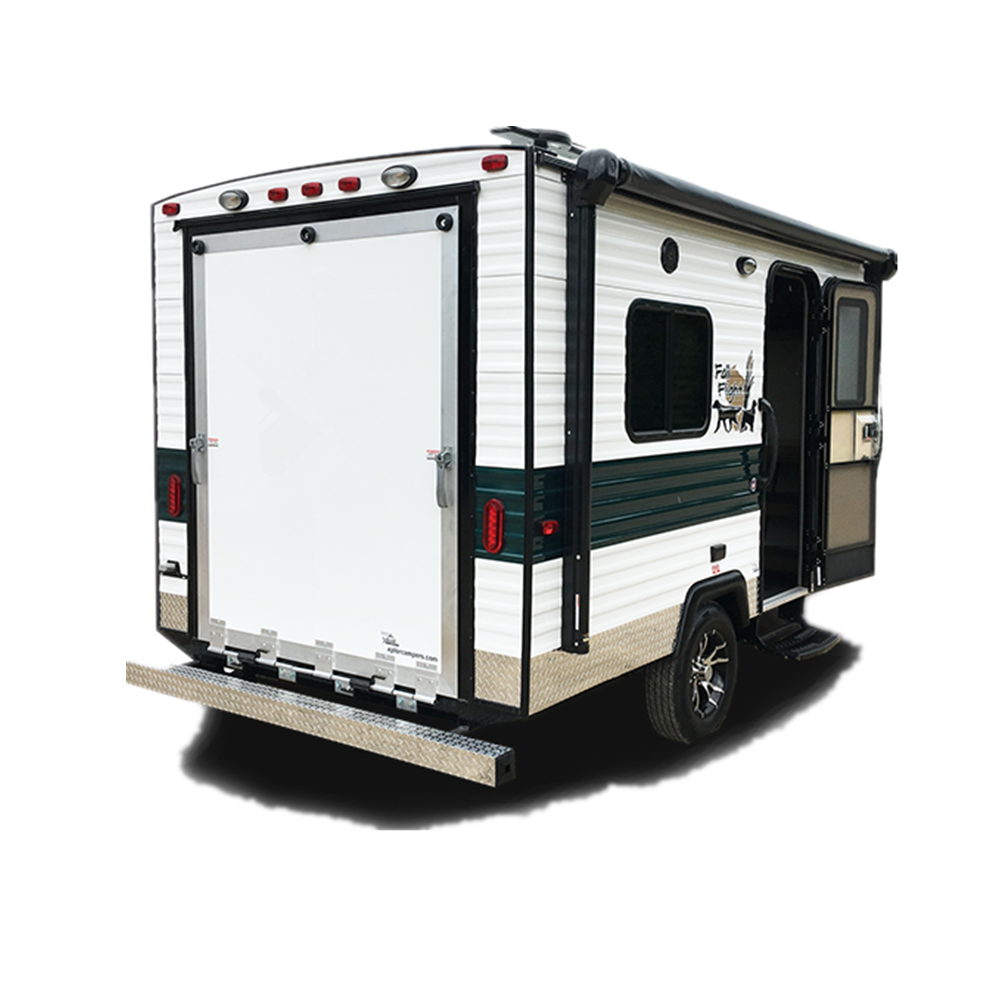 ManleyORV 05 Tiny Small Travel Off Road Trailer Toy Hauler Camper Caravan For motorcycle