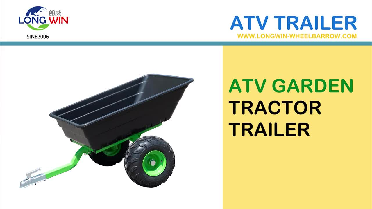 Garden Small Farm utiltiy trailer