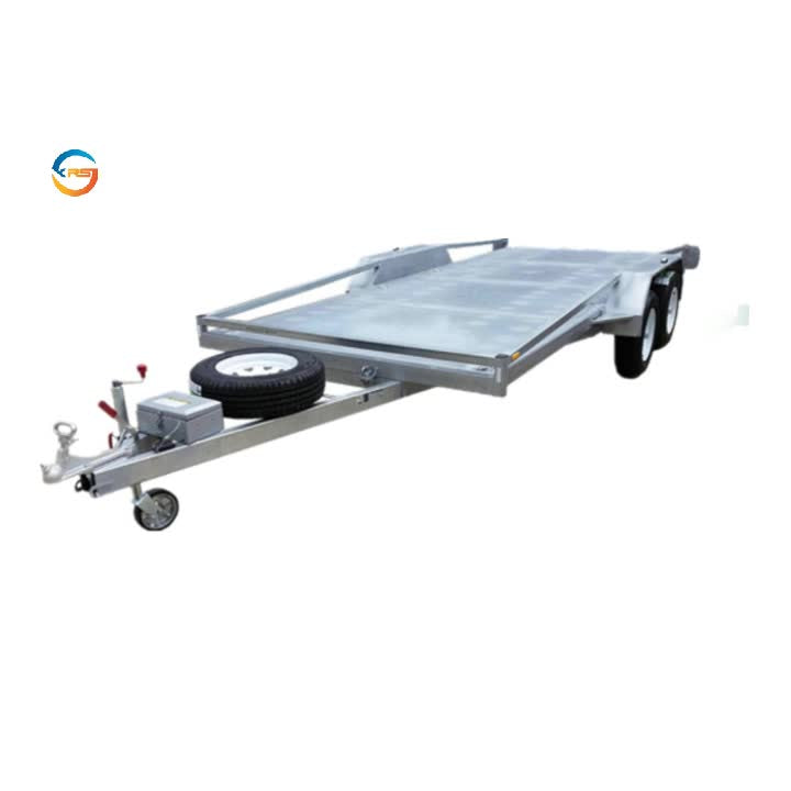High quality 3.5T car  hauler flatbed car trailer