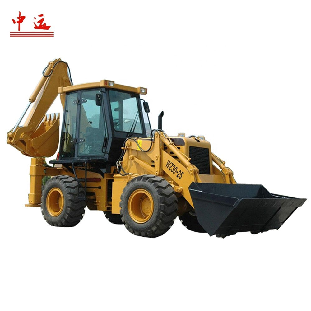 Supply High Quality SZ40-16 backhoe loader with 0.4m3 rated bucket capacity