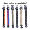Wholesale Free Sample Survival 550 LBS Tactical Paracord Bracelet for Outdoor Camping