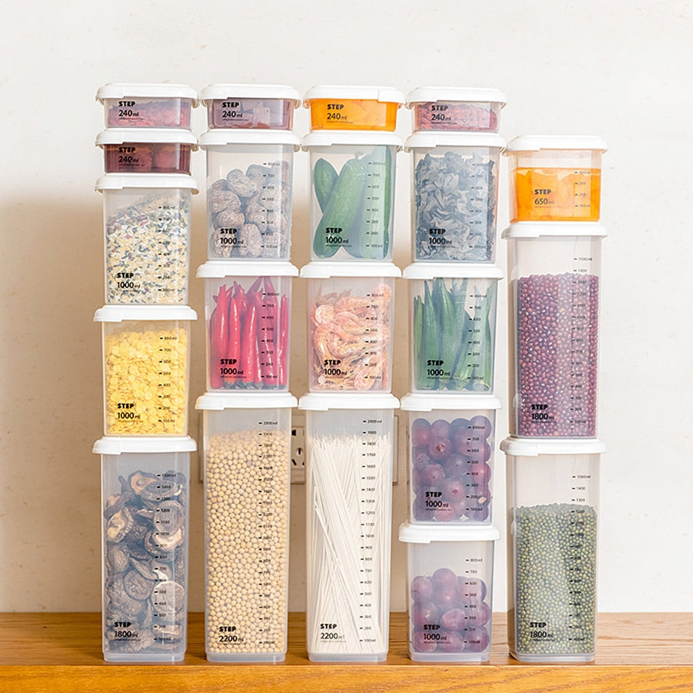 Transparent Sealed Storage Box