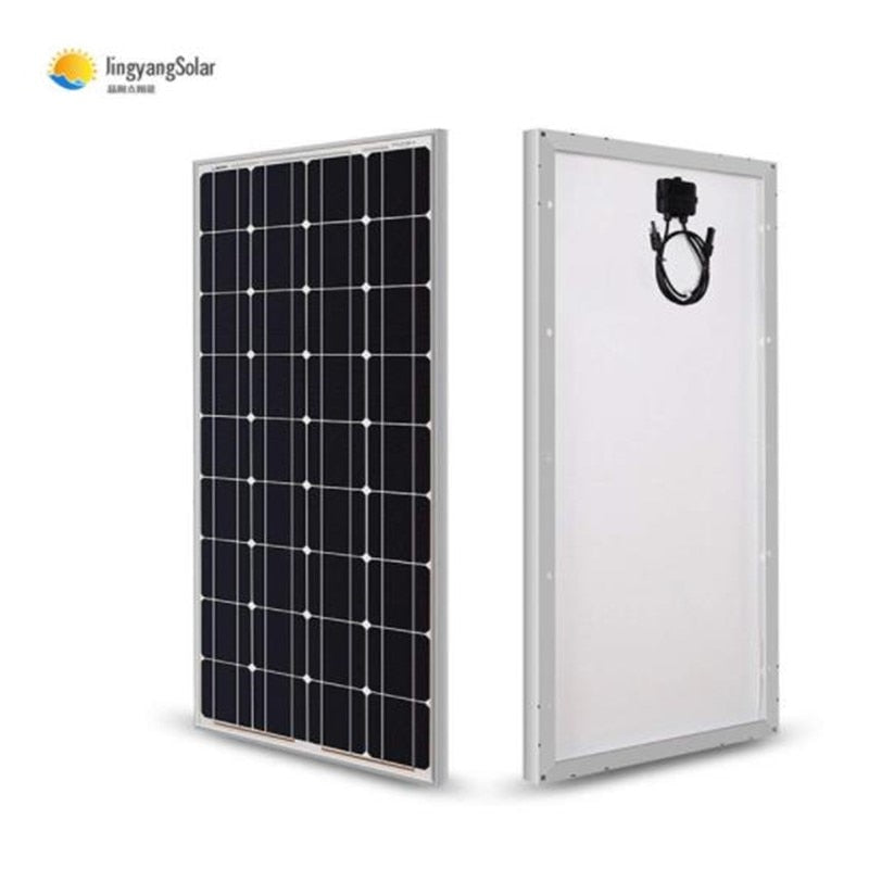 solar panel Light glass 100w solar panel, 100w 200w 12v solar panel for charge the battery