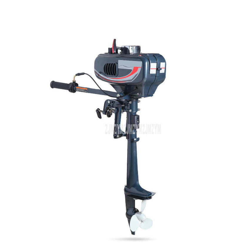 3.5 HP Boat Outboard Engine Water Cooling System Outboard Motor Two strok Gasoline Fuel Motor For Inflatable Fishing Boat 2.5KW