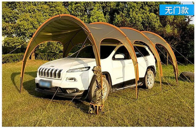 6 8 10 12 Person Outdoor Camping Family Car Self-Driving Sherlter Tent Tour Party Barbecue Car Awing Beach Pergola Shade Tent