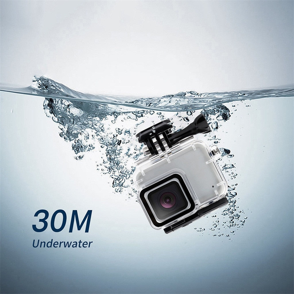 Acrylic 30m Underwater Waterproof Case Cover For Gopro Hero 7