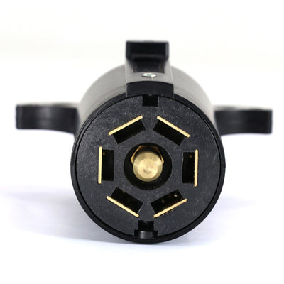 7 Way Blade Round Connector Plug