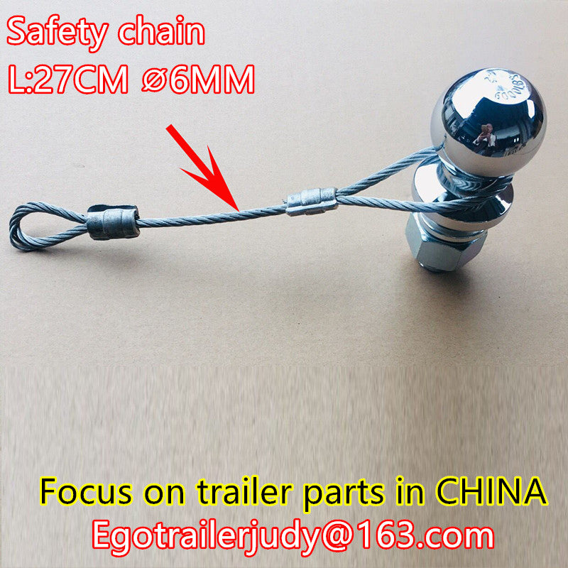 EGOTRAILER trailer safety chain safety cable trailer safety wire chain trailer parts,trailer accessories
