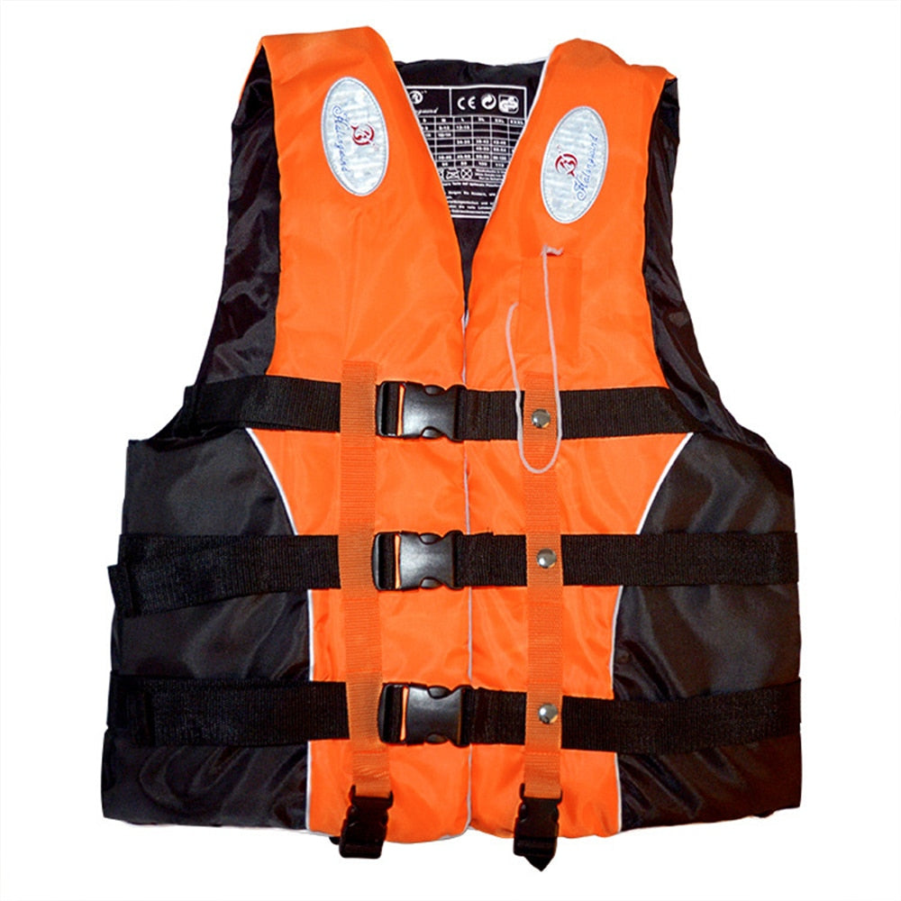 Swimming Boating Ski Drifting Life Vest with Whistle
