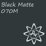 Oracal 651 Black Matte 070M