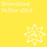 Oracal 651 Brimstone Yellow 025