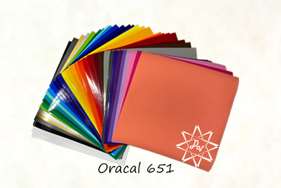 Oracal 651 Bundle (36 - 12