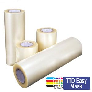 Siser TTD Easy Mask HTV transfer sheet for heat transfer vinyl
