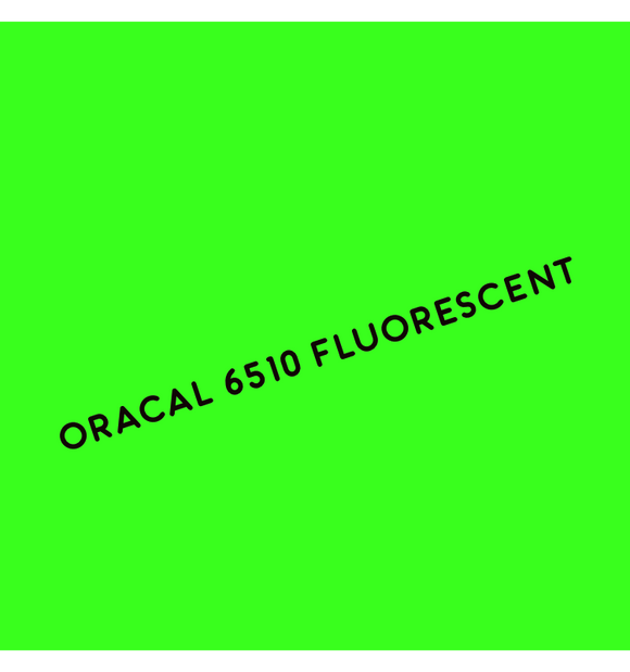 Oracal 6510 Fluorescent Adhesive Vinyl