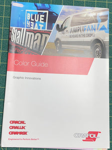 Oracal Color Guide 2020