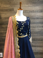 Navy Gotta Anarkali