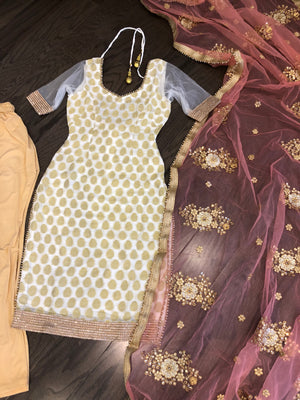 Banarsi Georgette Suit