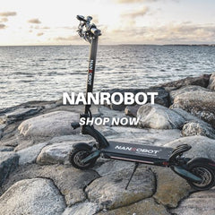NANROBOT Electric Scooter Canberra - ION DNA Electric Vehicles