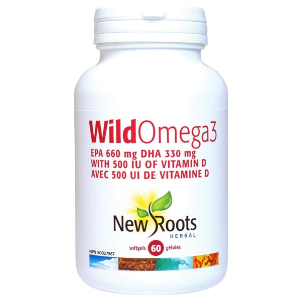 New Roots Herbal Wild Omega-3 660 EPA/330 DHA