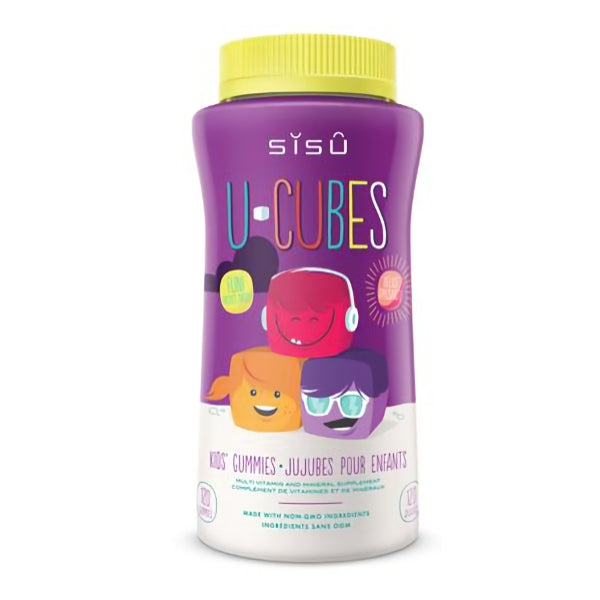 Sisu U-Cube Kid's Multivitamins