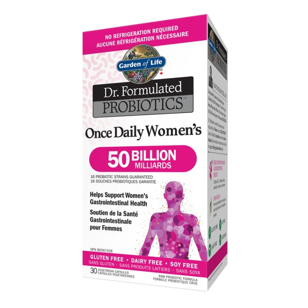 Garden of Life Dr Formulated Once Daily Women's Probiotic