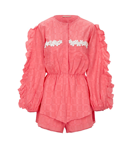 Clube Bossa pink playsuit