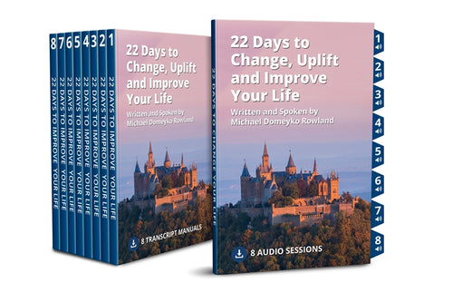 22 Days to uplift and improve your life - Success Love Freedom
