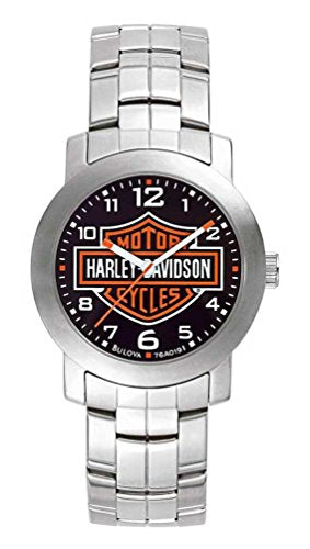 Bulova Men's 76A019 Harley Davidson Japanese-Quartz Black Watch