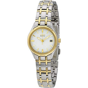 Women Watch Citizen EW1264-50A Silhouette Two Tone Eco-Drive Silhouette Sport