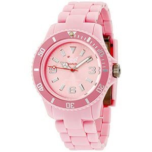 Ice-Watch Women's CLASSIC PASTEL CP.DPK.U.P.10 Pink Plastic Quartz Watch with Pink Dial