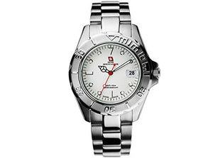 Swiss Mountaineer Men's Stainless Steel Band Watch SM1070