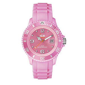 Ice-Watch Men's SI.PK.B.S.09 Sili Collection Pink Plastic and Silicone Watch
