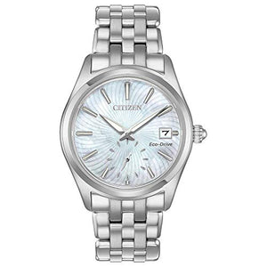 Citizen Women's EV1030-57D Mother-of-Pearl Watch