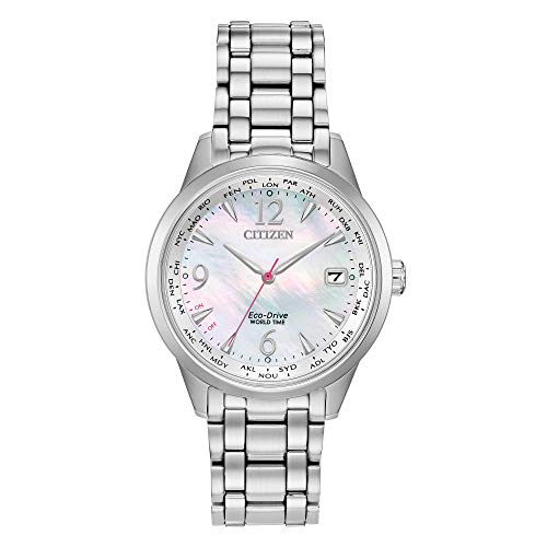 Citizen Women's FC8000-55D World Time Perpetual Calender Eco-Drive Watch