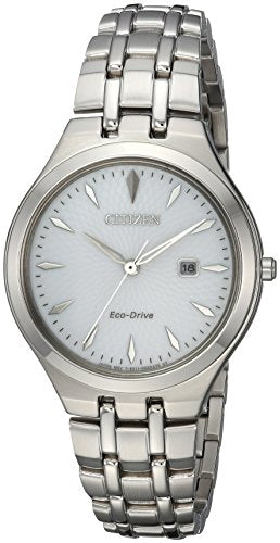 Citizen Women's EW2490-55A Eco-Drive Analog Display Japanese Quartz Silver Watch