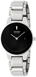 Citizen Women's GA1050-51E Axiom Analog Display Japanese Quartz Silver Watch
