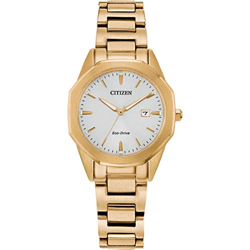 Citizen EW2582-59A Women's Corso Yellow Gold Bracelet Watch