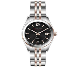Mountaineer Mens Two-Tone Stainless Steel Watch MS6041