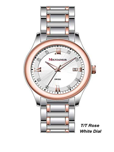 Mountaineer Women's Two Tone Stainless Steel Watch MS6013