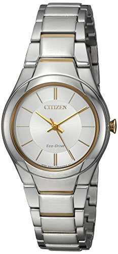 Citizen Women's FE2094-51A Eco-Drive Analog Display Japanese Quartz Two Tone Watch