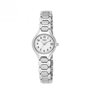 Citizen Women's EU2250-51A Wrist Watches, White Dial