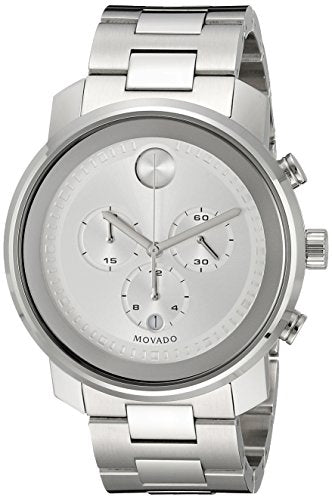 Movado Men's 3600276 Analog Display Swiss Quartz Silver Watch